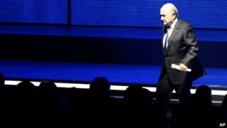Sepp Blatter abre 61 Congreso de Fifa