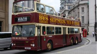 Bus pariwisata London