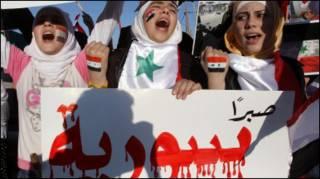 Протести сирійської опозиції