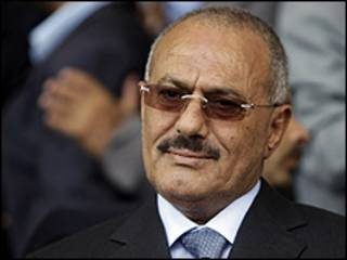 Shugaba Ali Abdallah Saleh na Yemen