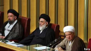 هاشمی رفسنجانی، شاهرودی و احمد خاتمی