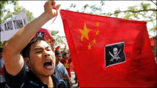 Biểu tình chống Trung Quốc ở Hà Nội hôm 05/06