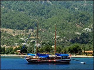 Яхта в Туреччині