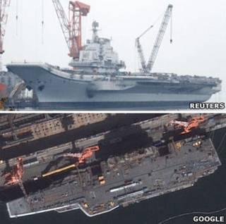 Так виглядає майбутній китайський авіаносець
