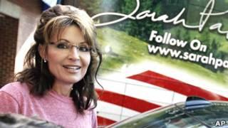 Бывший губернатор Аляски Сара Пэйлин