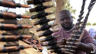 Повстанец в районе Завии