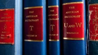 Volumes do dicionário assírio