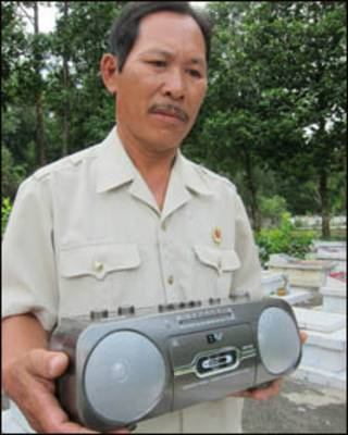 Cựu chiến binh Phạm Trung Tín