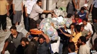 بمباران لیبی