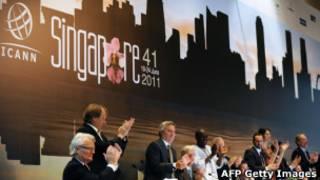Reunião da Icann (AFP Getty Images)