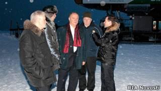 Медведев и лидеры думских фракций