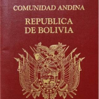 Passaporte boliviano