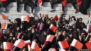 معترضان در بحرین