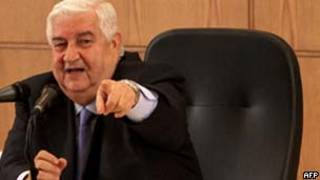 Walid Moallem/AFP
