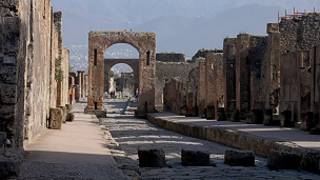 Улица в Помпеи