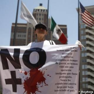 Protesto em El Paso, no Texas. Foto: Reuters