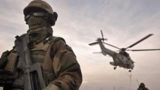 افغانستان میں فرانسیسی فوجی فائل فوٹو