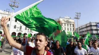 Сторонники Каддафи