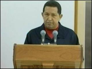 Shugaba Hugo Chavez