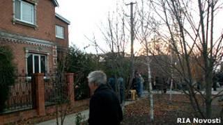 Дом, в станице Кущевская, в котором произошло убийство 12 человек