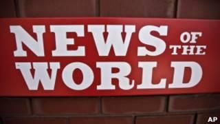 Logo do 'News of the World'
