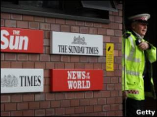 新闻国际公司总部门口