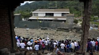 Toribío luego del ataque de las FARC