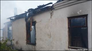 Будинок для престарілих, що згорів