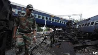 حادث تصادم قطارين في الهند (أرشيف)