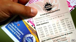 Билет лотереи Euromillions