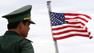 امریکی سرحدی گارڈ کی ایک فائل فوٹو