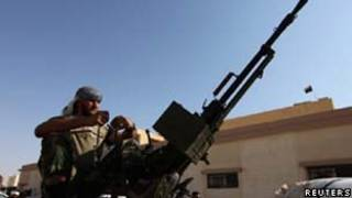 Rebelde líbio/reuters