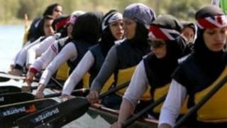 تیم ملی قایقرانی زنان ایران
