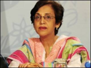 دفترِ خارجہ کی ترجمان تہمینہ جنجوعہ