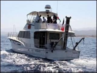 ग़ाज़ा जाने वाली नाव