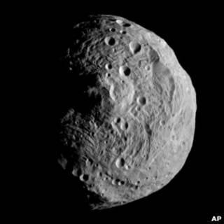 Астероид Веста вблизи