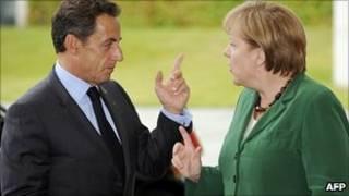 Zarkozy dan Merkel