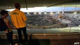 Estádio do Maracanã, RJ. AFP