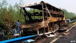 Автобус в Китае