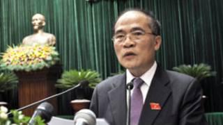 Tân Chủ tịch QH Nguyến Sinh Hùng