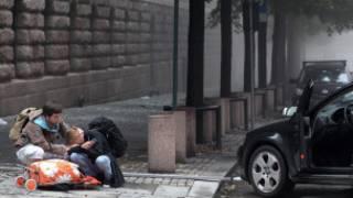 Região atacada em Oslo (AFP)