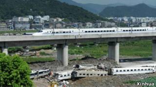 Tai nạn đâm xe lửa cao tốc tại Trung Quốc