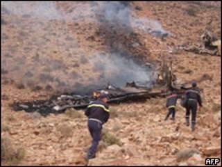 मोरक्को विमान दुर्घटना