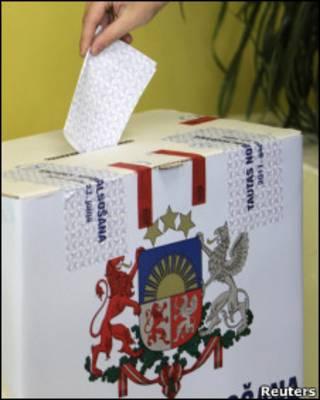 Латвія хоче змін від дострокових виборів