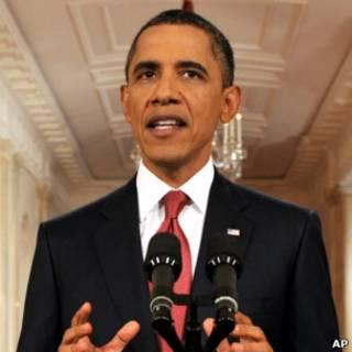 O presidente americano Barack Obama.