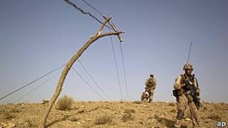 Soldados de EE.UU. en Afganistán