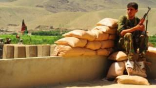نیروی امنیتی افغان در نورستان (عکس از آرشیو)
