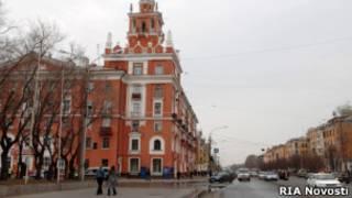 Улица Ленина в Комсомольске-на-Амуре