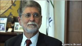 Ministro da Defesa, Celso Amorim.
