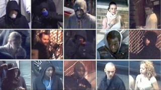 Acusados por saques e depredação em imagens captadas por câmeras de segurança